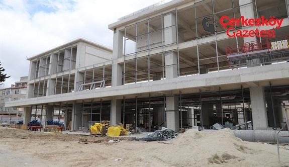 Kültür merkezi yıl sonuna kadar tamamlanacak
