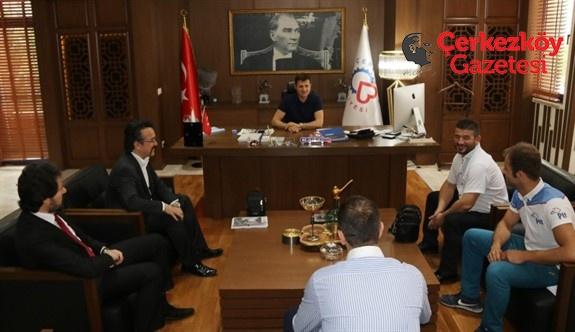 Türk Ocakları'ndan Başkan Akay'a ziyaret
