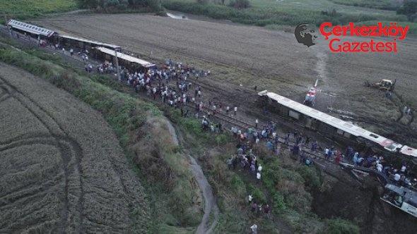 Çorlu tren kazası araştırma önergesine AKP ve MHP'lilerden ret oyu!