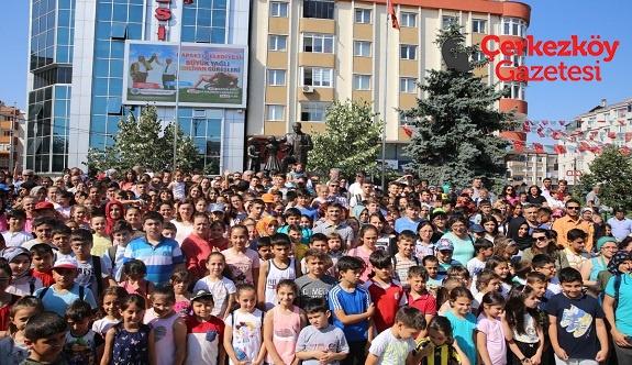Kapaklı'da 1024 öğrenci yaz okuluna başladı