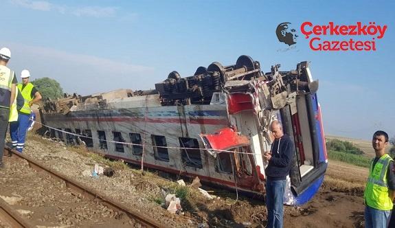 Yüceer'den tren kazasına dair 'zor' sorular