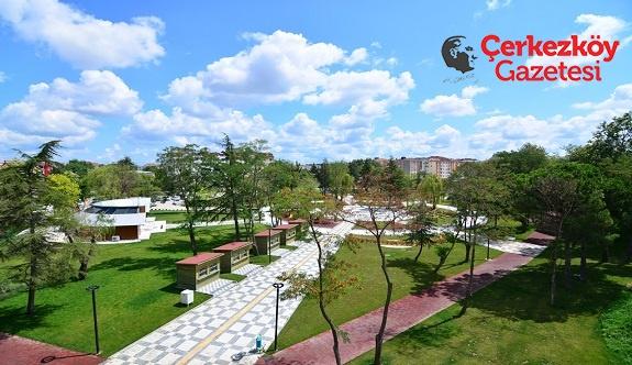 Kent Park Çerkezköy'ün çehresini değiştirdi