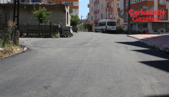 Kızılpınar'da 160 sokak tamamlandı