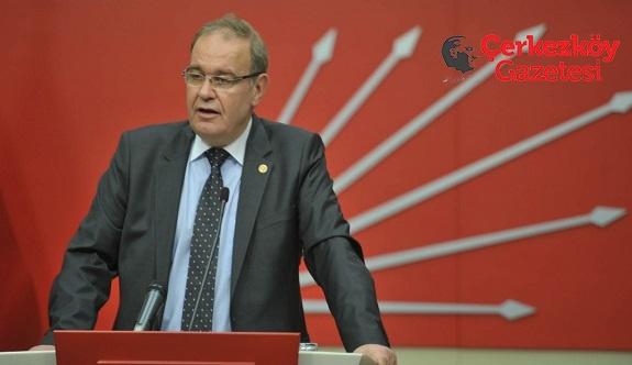 Öztrak: AKP'li Şentop'un açıklaması akıl tutulması