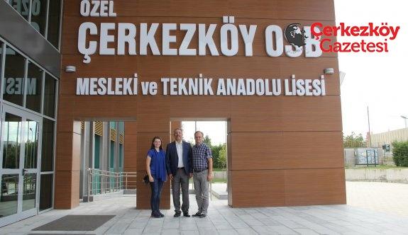 Makedonya'dan Özel ÇOSB Lisesi'ne 'Kardeş Okul' ziyareti