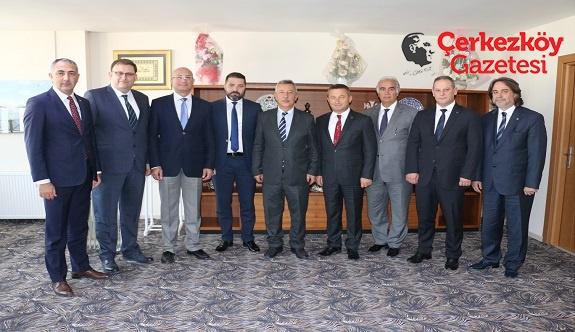 Çerkezköy TSO Yönetiminden birlik mesajı 