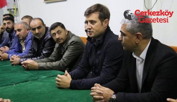 Erzincanlılarla bir araya geldi 
