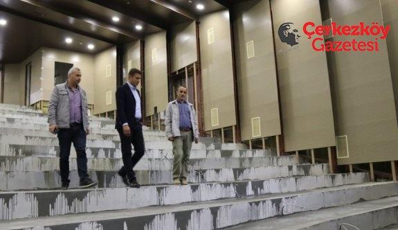 Kültür Merkezi Çerkezköy'e çok yakışacak