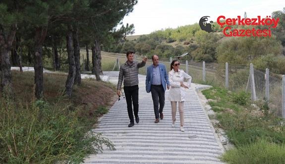 Veliköy'e 30 dönümlük yaşam alanı 