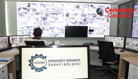 Çerkezköy OSB'den Kapsamlı SCADA ve Kamera Takip Merkezi 