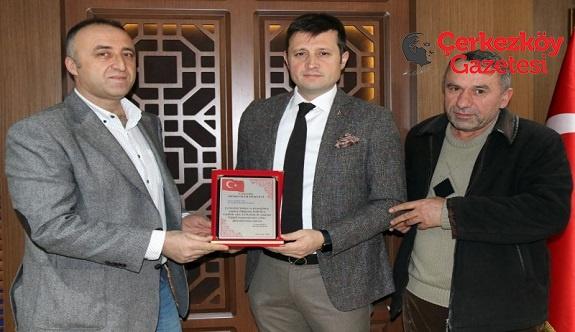 Başkan Akay'a çifte teşekkür 