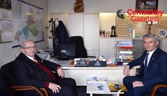 Başkan Albayrak'tan Çerkezköy muhtarlarına ziyaret 