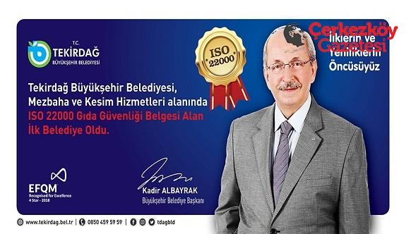 İlklerin kenti: Tekirdağ Büyükşehir Belediyesi 