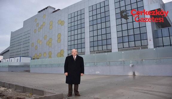 Başkan Albayrak Çerkezköy'deki yatırımları inceledi 
