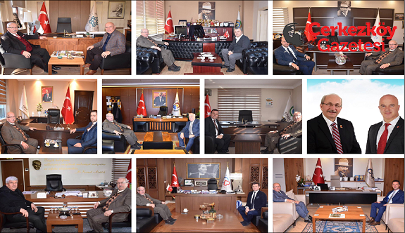 Belediye Başkan Adaylarını ziyaret etti 