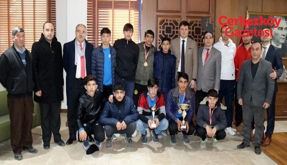 Çerkezköy'ü 'Futsal Turnuvası'nda temsil edecekler 
