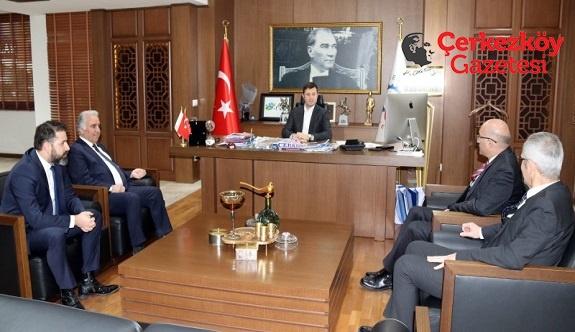 ÇTSO Yönetimi Akay'a başarılar diledi 