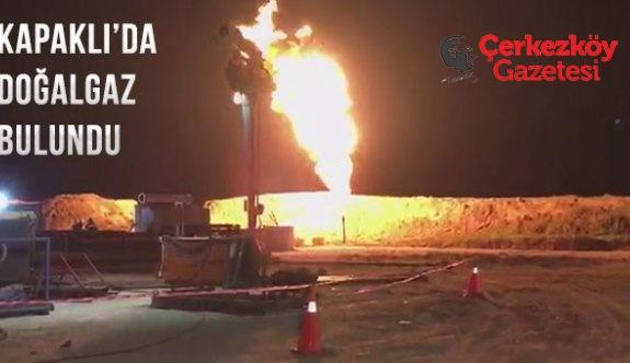 Kapaklı'da doğalgaz bulundu, Vatandaş düşünceli!