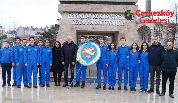 THK'nin kuruluşu Çerkezköy'de kutlandı