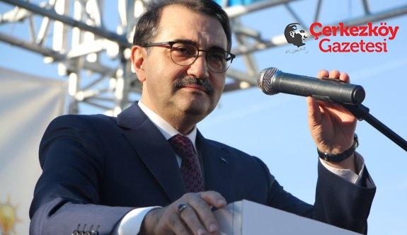 """Bakan Dönmez: """"Pınarça'ya doğalgaz getireceğiz"""""""