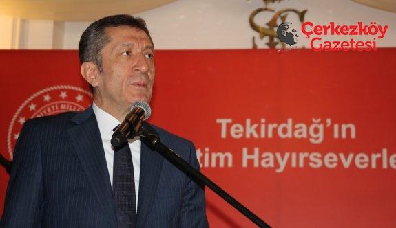 Bakan Selçuk Çerkezköy'de
