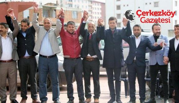 Erzurum Tekmanlılar tek bir çatı altında buluştu