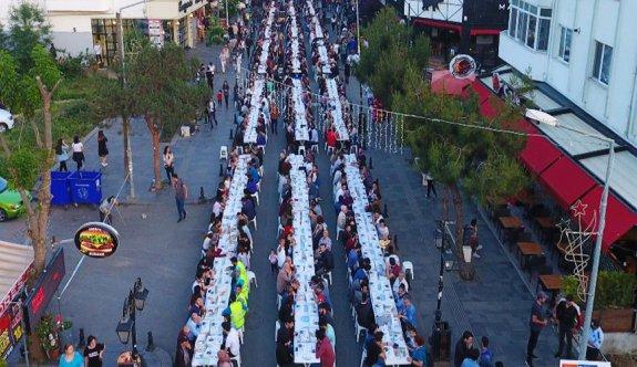 50 binin üzerinde vatandaş iftar yaptı
