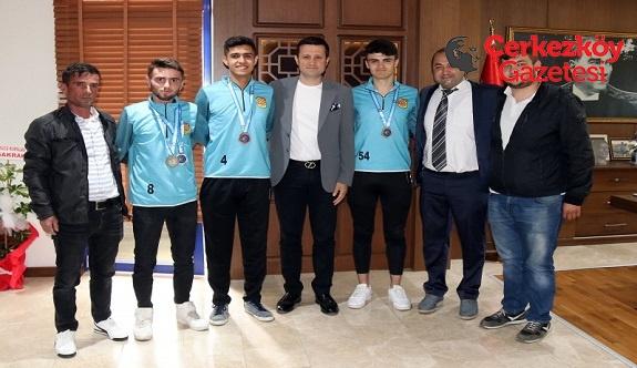 Çerkezköy Sağırlar Gençlik ve Spor Kulübü'nden büyük başarı 