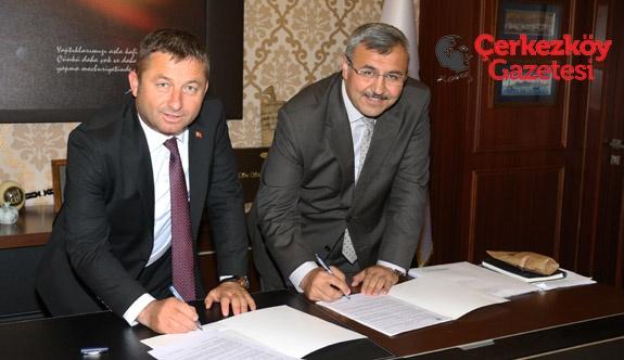Çerkezköy TSO ve Başakşehir'den eğitimde iş birliği 