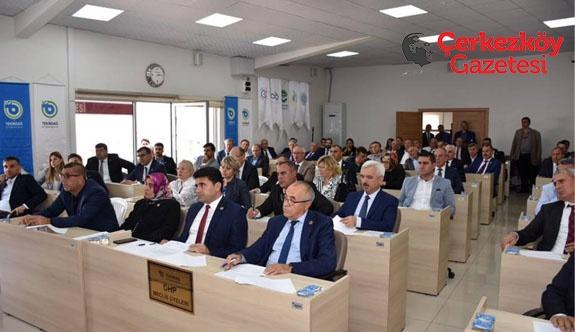 Türkiye Belediyeler Birliği Tekirdağ üye seçimi yapıldı 