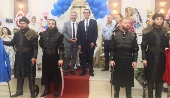 Gümüş'ün oğluna Türk geleneklerine göre sünnet düğünü