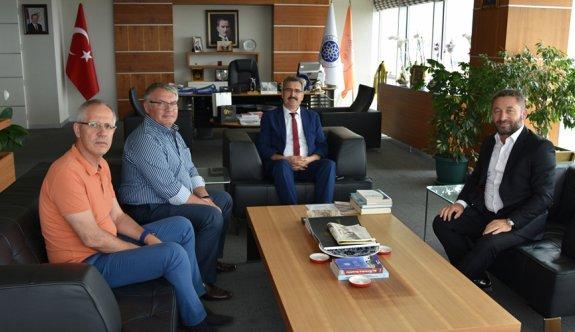 Kozuva'dan Rektör Şahin'e ziyaret
