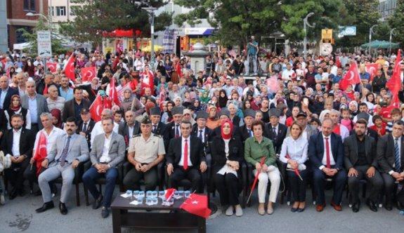 15 Temmuz Çerkezköy'de böyle anıldı