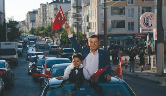 Çetin: Bu şehre gönül verdik