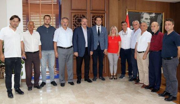 CHP İl yönetimi Akay'ı ziyaret etti