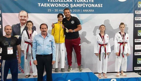 Milli sporcular Çerkezköy'ün göğsünü kabarttı