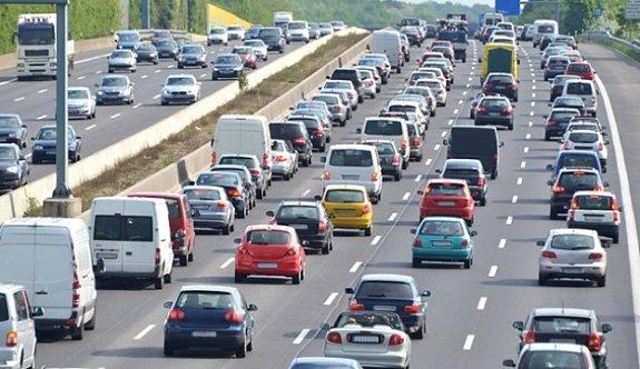 270 bin 236 araç Tekirdağ'a kayıtlı