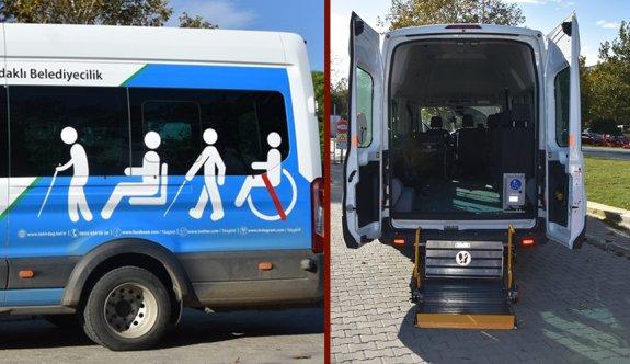 Engelliler için özel araç tahsis edilecek
