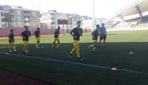 Kapaklıspor hazırlık maçında coştu