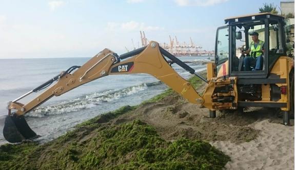 Büyükşehir Belediyesinden büyük sahil temizliği 