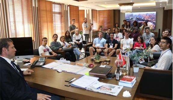 Çerkezköy'e 5 farklı ülkeden ziyaretçi akını 