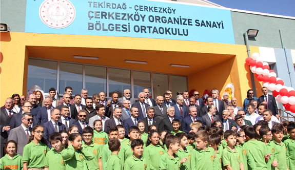 ÇOSB'nin eğitime katkısı sürüyor 