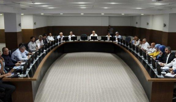 Eylül ayı meclis toplantısının 2. oturumu yapıldı