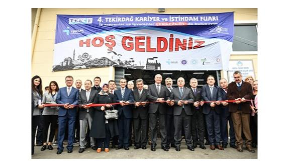 Kariyer ve İstihdam Fuarı Çerkezköy'de yapıldı