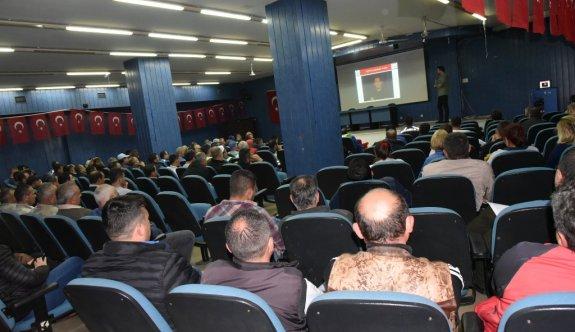 Büyükşehir Belediyesi Personelinden Çorlu Belediyesi Çalışanlarına Deprem Eğitimi