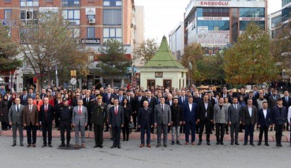 Çerkezköy'de öğretmenler günü kutlandı