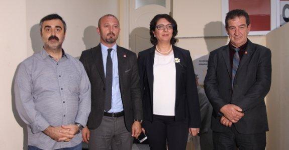 CHP delegesi Ayfer Yılmaz'lı listeyi seçti