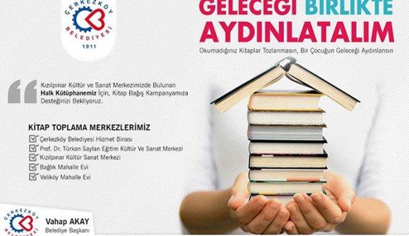 Kitap bağış kampanyası başlatıldı