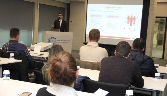 ÇOSB'de KVKK ve VERBİS Kayıt Süreci Semineri düzenlendi