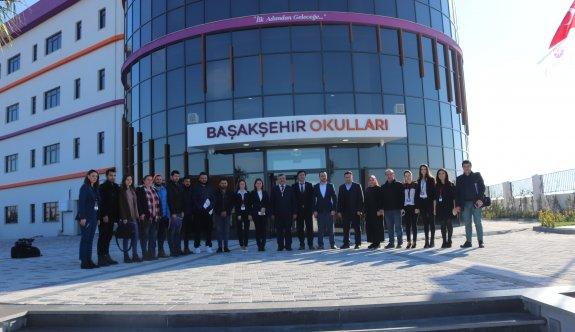 Başakşehir Okulları kendini basına tanıttı